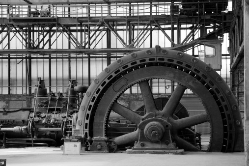 vintage power generator