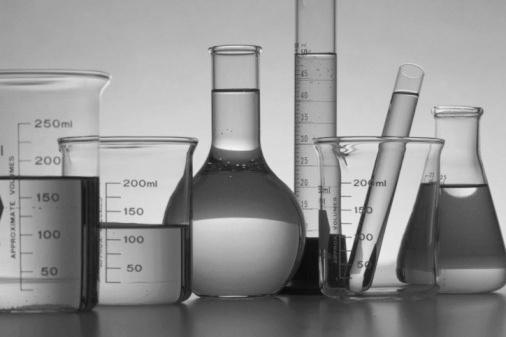 Beakers and test tube